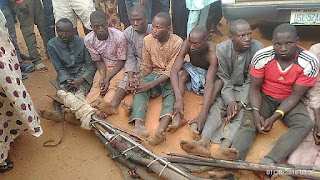 News: Youths nab armed Fulani herdsmen in Delta [PHOTOS]