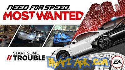 Need for Speed™ Most Wanted v1.3.71 Mod Apk Data Android | Nyari Apk