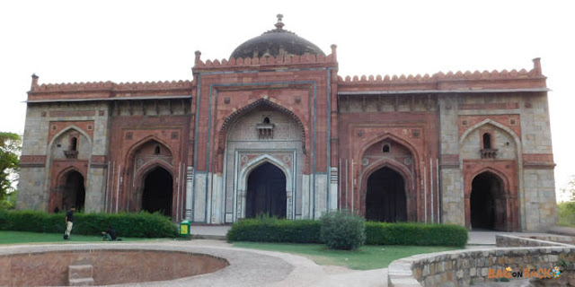 Qila-i Quhna-Masjid-Delhi