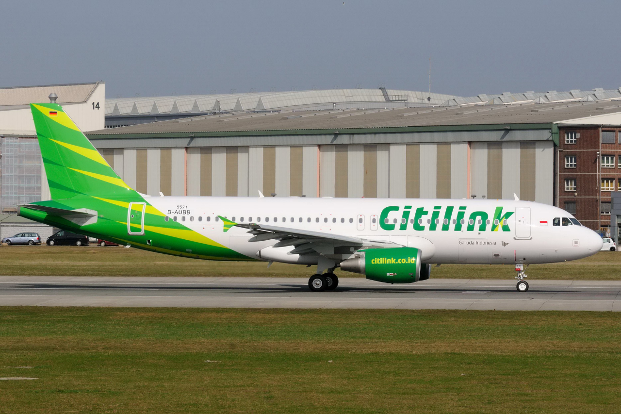 Airbus Hamburg Finkenwerder News: A320-214, Citilink, PK