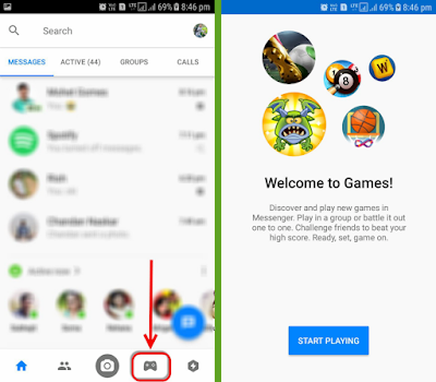 Play Games in Messenger