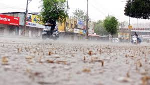 تلنگانہ کے مختلف اضلاع میں بھی شدید بارش