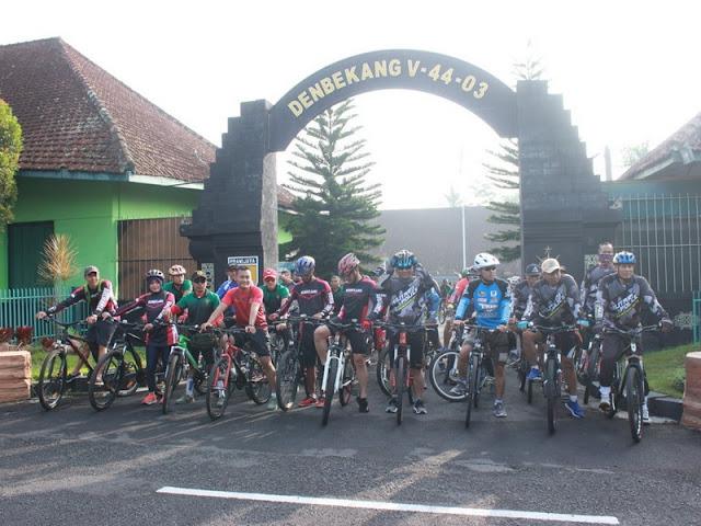 Yonbekang 2 Kostrad Ikuti Gowes Bersama Korps Bekang Wilayah Malang Raya