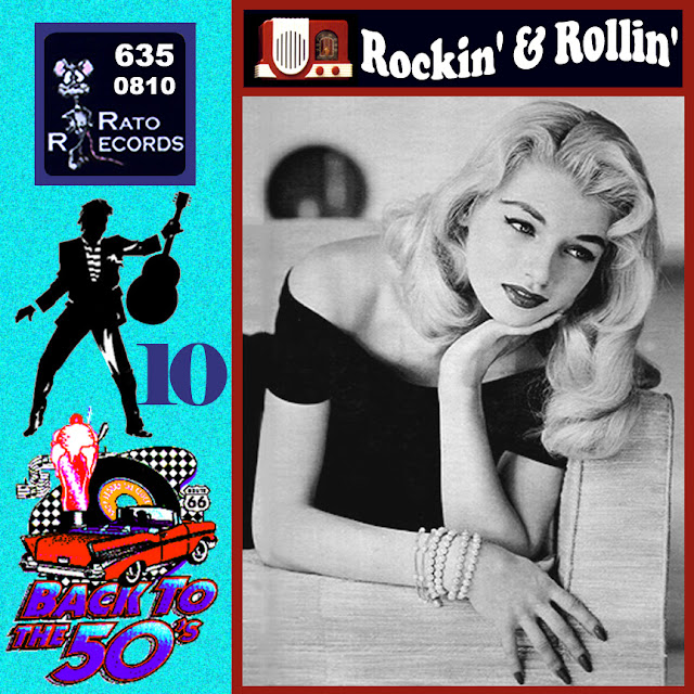 Cd collection Back To The 50's - Rockin' & Rollin' 10 Front