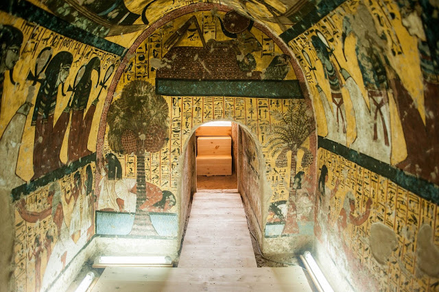 Four Egyptian tombs open to public for the first time
