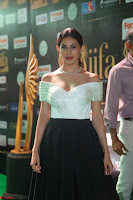 Amyra Dastur in White Deep neck Top and Black Skirt ~  Exclusive 013.JPG