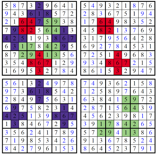 Picture Sudoku (Fun With Sudoku #11) Solution