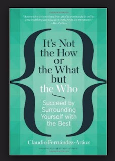 capa do livro its not the how or the what but the who do autor Claudio Fernandez. Imagem é um link para compra