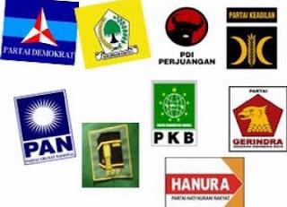partai politik terbesar dan terkuat