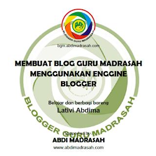 Blogger Guru Madrasah