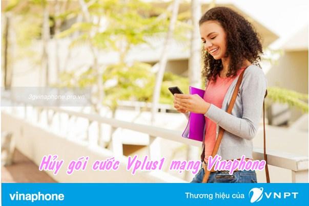 Hướng dẫn hủy gói cước Vplus1 Vinaphone mỗi khi cần