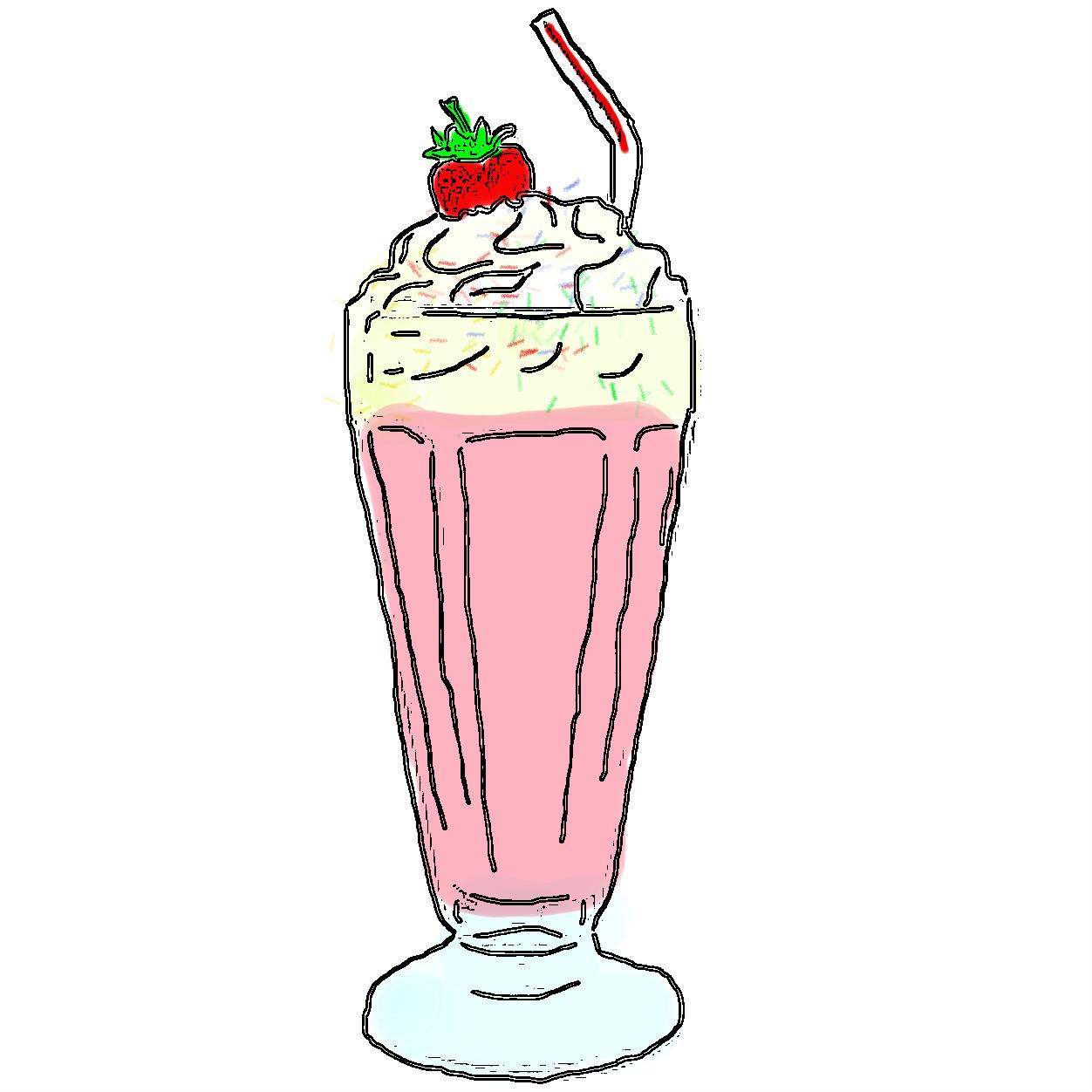 milkshake clipart rh supercliparts blogspot com milkshake clipart black and white banana milkshake clipart
