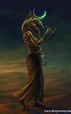 Thoth - aki elhozta az írás tudományát