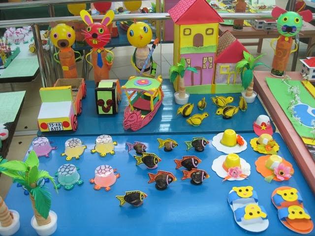 đồ dùng đồ chơi sáng tạo mầm non