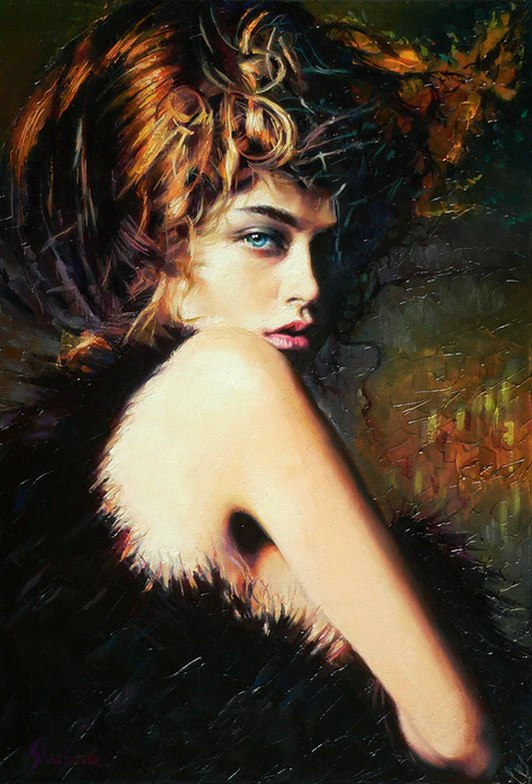 Alexey Slusar 1961 - Ukrainian painter