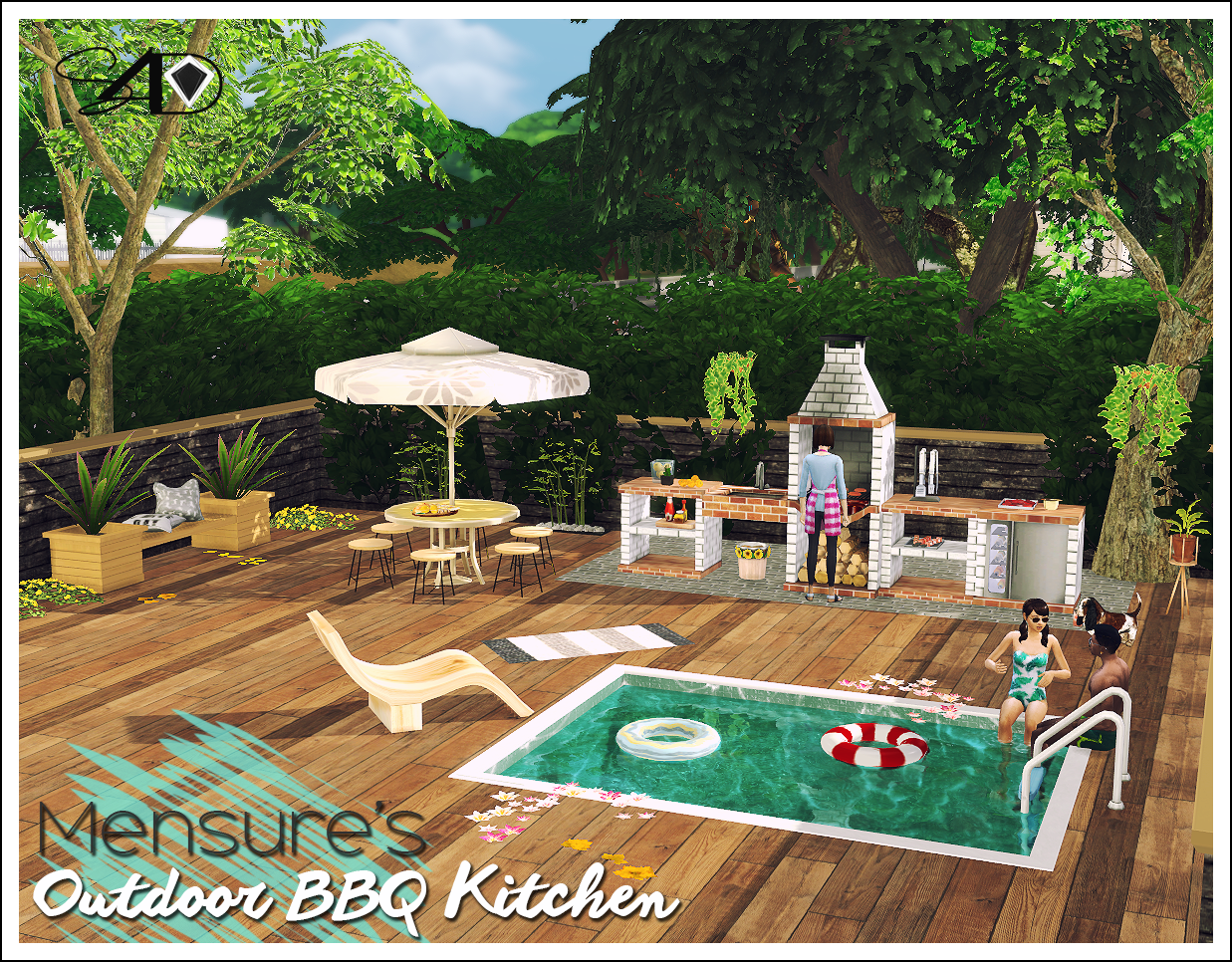 Outdoor Küche Set Sims 4 Cc 39s The Best Ts2 Bbq Outdoor Kitchen Set