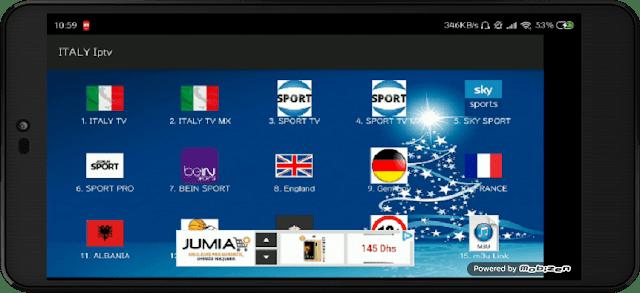 تحميل تطبيق ITALY IPTV الرائع لمشاهدة جميع قنوات العالم المشفرة مجانا على الاندرويد