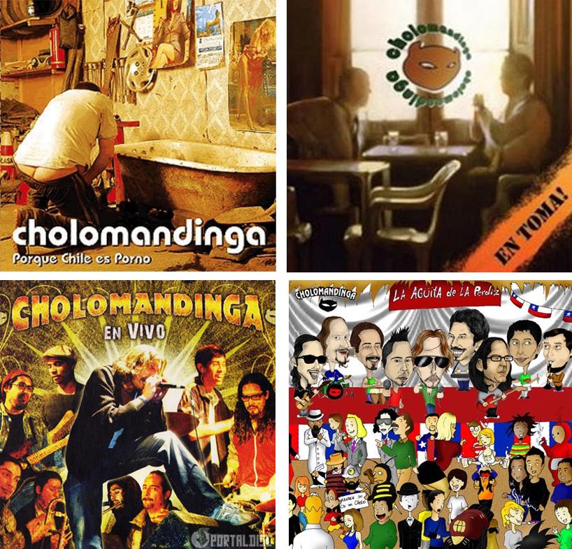 discografia cholomandinga