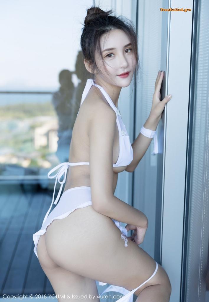 YouMi Vol.224 SOLO MrCong.com 029 wm - YouMi Vol.224: Người mẫu SOLO-尹菲