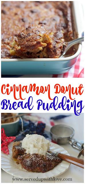 cinnamon-donut-bread-pudding