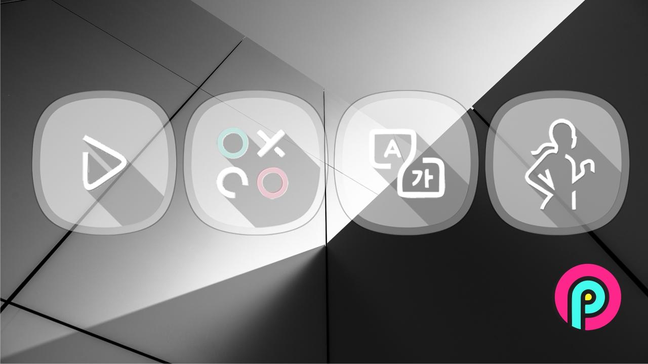 S9 Oreo Icons Sexy theme to Android Nova Launcher Go