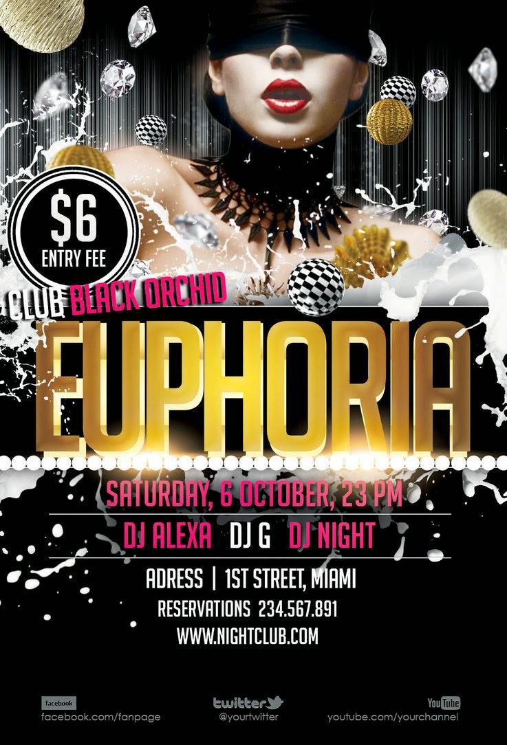 Flyer Euphoria Template