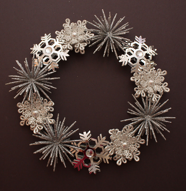 Sadie Priss Pottery Barn Inspired Winter Wreath