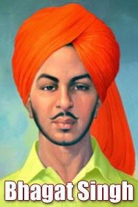 bhagat singh parents