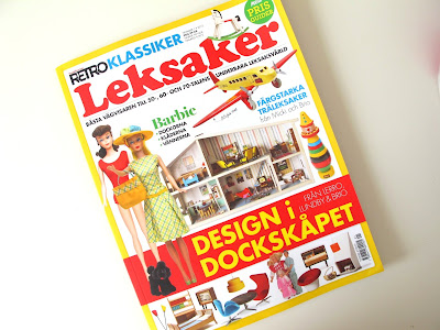 Copy of the magazine Retro Klassiker Leksaker Design i Dockskåpet
