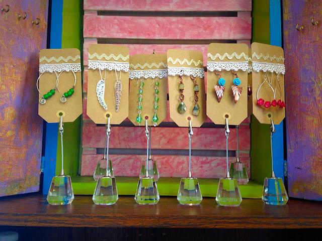 Handmade Artisan Jewelry by Wink Artisans- Earring Cards
