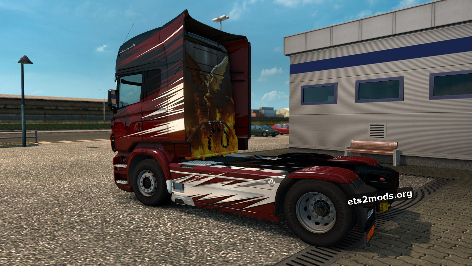 Valcarenghi Skin for Scania RJL