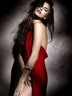 Irina Shayk Sizzling Red Dress Picture