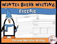 FREE Winter Break Writing