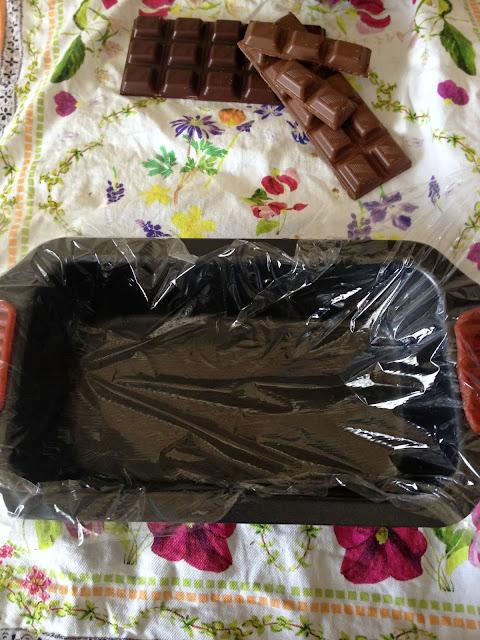 cake de chocolate sin horno