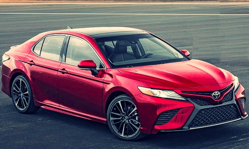 2-18 Toyota Camry Specification and Interior