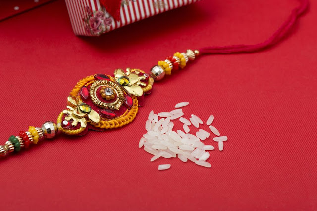 Happy Rakhi Decoration Thali Images