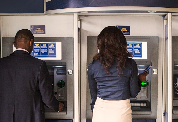 nigerian atm fraudsters sms bank account