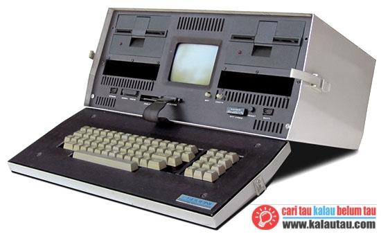 kalautau.com - asal mula laptop pertama kali
