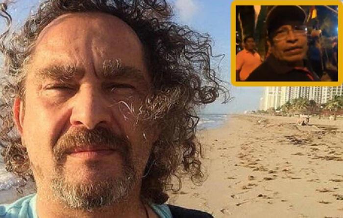 Un militante del MAS increpó el martes al fotoperiodista boliviano / MONTAJE VISOR BOLIVIA