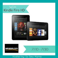 Enter to win a Kindle Fire HD. Giveaway ends 7/30