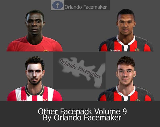 PES 2013 Other Facepack Volume 9 by Orlando Facemaker