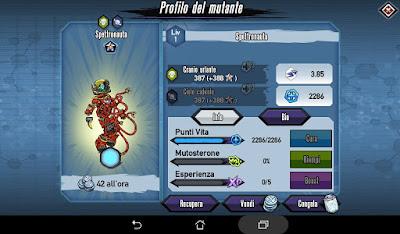 Mutants: Genetic Gladiators video N°360 Fusion Ghostmonaut - Fusione Spettronauta