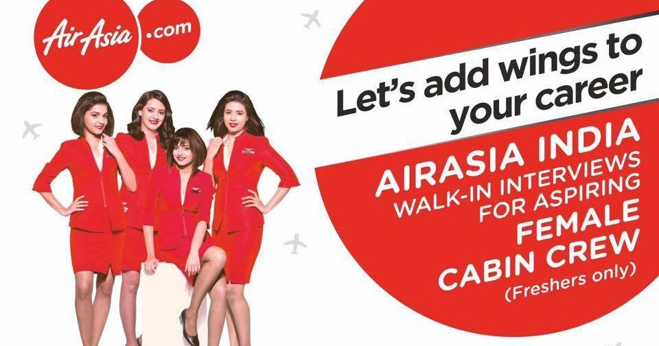 Fly gosh air asia india cabin crew recruitment walk in for Cabin crew recruitment agency philippines