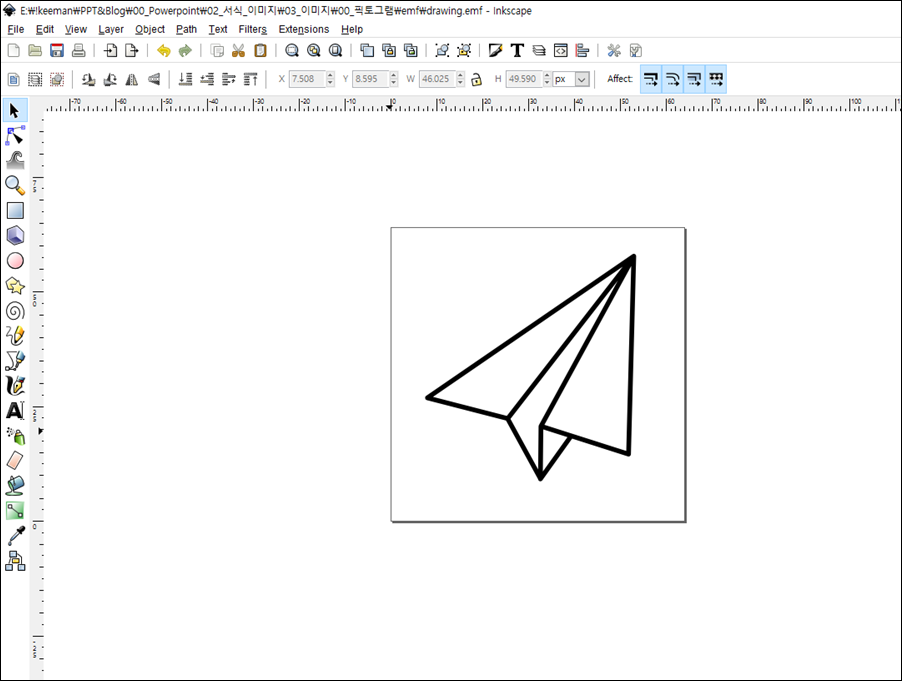 Insert SVG File : Two way in Powerpoint for Windows - chic