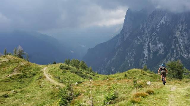 Monte Paularo Befahrung mit dem Mountainbike