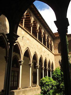 Cloister of Santa Maria de Montsio Monastery