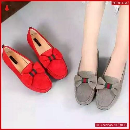 DFAN3245S27 Sepatu Nj 46 Flatshoes Wanita Pita Sepatu BMGShop