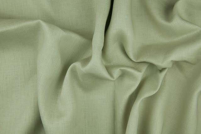 Sage Handkerchief Linen Fabric