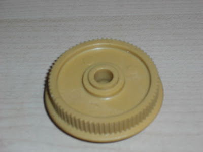 Replacement reduction gear pulley