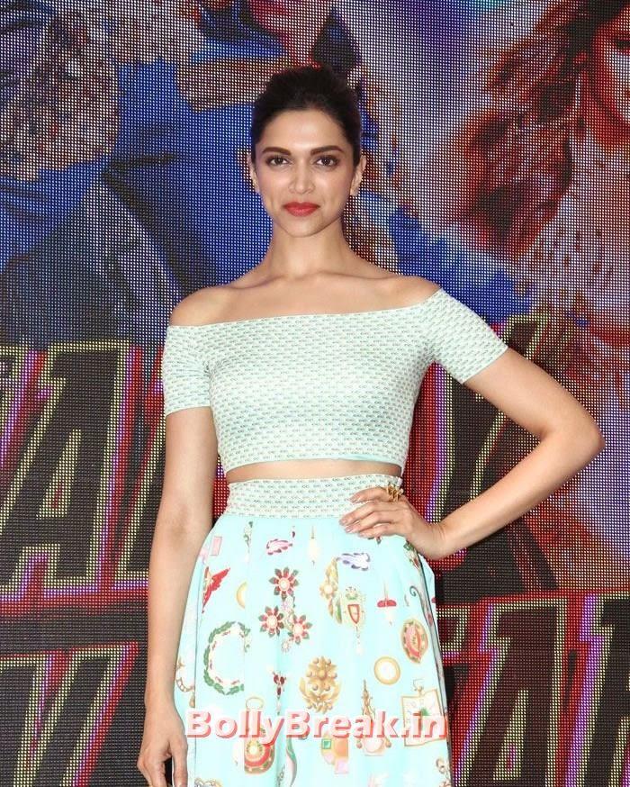 , Deepika Padukone Hot Photos in Green dress at HNY song Launch